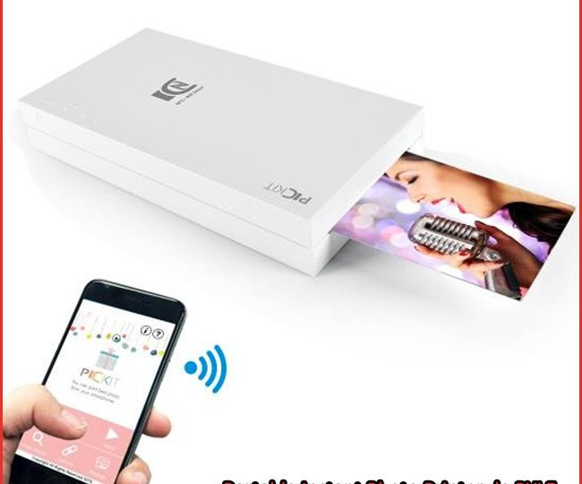 Portable Instant Photo Printer, impresora portátil de PYLE