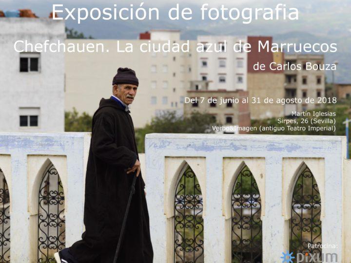 """Exposición fotográfica """"Chefchuen. La ciudad azul de Marruecos"""""""