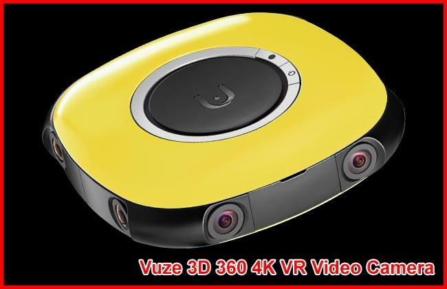 Vuze 3D 360 4K VR Video Camera